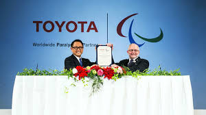 toyota worldwide toyota signs on as ipc worldwide paralympic partner youtube