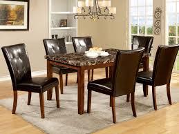 100 hamlyn dining room set meredy brown 6 piece dining room