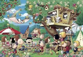 snoopy tree apollo sha jigsaw puzzle 48 747 peanuts snoopy tree house 300