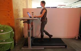 Standing Treadmill Desk by The Downside Of Treadmill Desks The New York Times