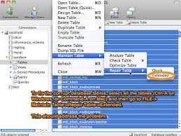 Mysql Repair All Tables by Moodle Tip Repairing Your Mysql Database Around The Corner