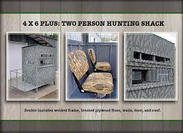2 Person Deer Blind Plans Hunting Blinds By Harvey Allen Outdoors Gallery