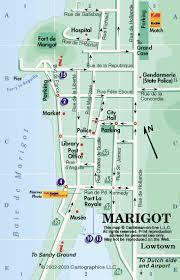 map of st martin caribbean on line st martin st maarten maps marigot