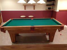 brunswick slate pool table brunswick billiards bradford solid wood sold sold used pool