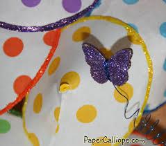 How To Make Paper Umbrellas - april showers bring paper umbrellas paper calliope