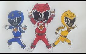 morphin power rangers dino thunder charge superordinary