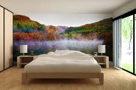 chambre foret papier peint chambre foret en automne izoa