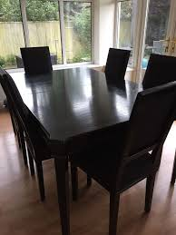 dining table and six chairs laura ashley henshaw in cheltenham