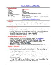 Resume For One Job by Bio Vtk