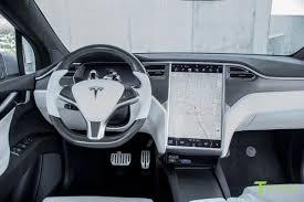 white interior silver 2016 tesla model x p90d ludicrous white interior