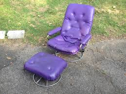awesome purple chair and ottoman u2014 bitdigest design purple chair