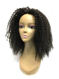 curly 100 percent human wig in 14 inch with front