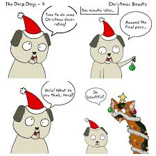 derp dogs 04 oh christmas tree alt end