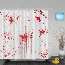Blood Shower Curtain Popular Paint Polyester Fabric Buy Cheap Paint Polyester Fabric