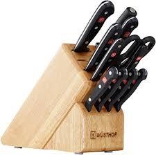 amazon knives kitchen amazon com wusthof gourmet 12 block set 9312 wusthof