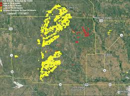 Wildfire Areas by Anderson Creek Fire In Oklahoma And Kansas U2013 Wildfire Today