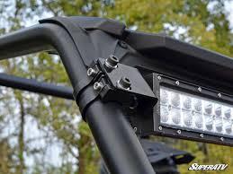 polaris rzr light bar polaris rzr 30 straight curved light bar cage mounting bracket