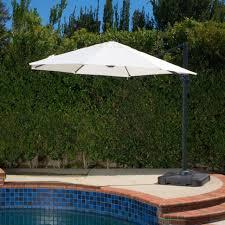 11 Market Umbrella Costco by Outdoor Cantilever Patio Umbrella With Base Backyard Umbrella