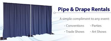 pipe and drape rental nyc pipe and drape rentals from rentacomputer worldwide