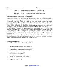 captivating free thanksgiving reading comprehension worksheets