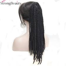 clip on extensions strong beauty american braids braided ponytail black