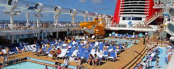 Disney Fantasy Floor Plan Disney Fantasy Deck Tour Walking The Pools Watching The Aquaduck