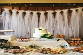 Bridal Table Decorations Best Tulle Decorations Ideas Bridal