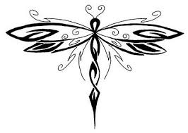 tribal dragonfly drawing tatoos dragonfly drawing