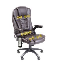 recliner executive faux leather desk chair u2013 daal u0027s home