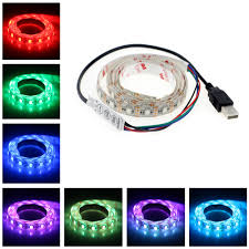 led color changing light strips aliexpress com buy 5v usb cable led strip light lamp smd5050 1m