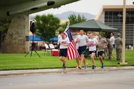 911 Flag Photo Nellis Hosts 9 11 Old Glory Challenge U003e Nellis Air Force Base U003e News