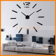 Living Room Clocks 3d Wall Clock 3d Wall Clock Suppliers And Manufacturers At
