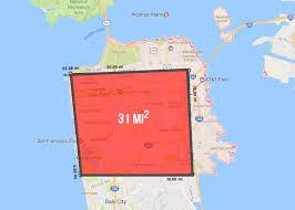 california map population density visualizing san francisco s population density sparefoot moving