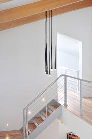 aluminum stairs u0026 stainless steel cable railing fabricated and