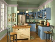 How To Take Cabinets Off The Wall How To Refinish Cabinets Like A Pro Hgtv