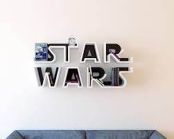 Batman Bookcase Star Wars Logo Shelf Interrior Design Bookshelf Movie