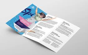 tri fold program easter service tri fold brochure template in psd ai vector