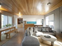 modern bi fold doors polished concrete floor texture polished