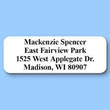 personal return address labels personal mailing labels walter