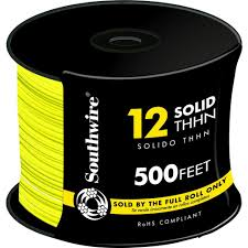 Southwire In Wall Digital 7 southwire 2500 ft 12 blue solid cu thhn wire 11590705 the home