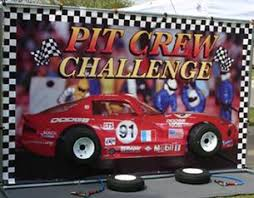 pit rental pit crew challenge race car party rental