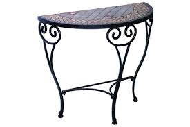Half Moon Accent Table Dublin Half Moon Console Console Tables Accent Tables Patio
