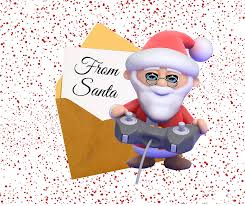 video games for christmas attach this letter from santa