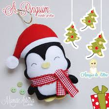 Felt Penguin Christmas Ornament Patterns - 175 best felt christmas ornaments images on pinterest felt