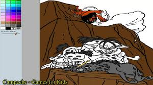 lion king online coloring pages scar shenzi banzai and ed 161