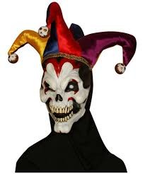 age 8 16 boys krazed jester costume mask halloween fancy dress
