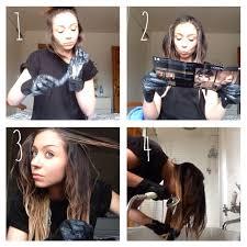 how to ambray hair how to ombré hair using l oréal féria extreme ombré la belle