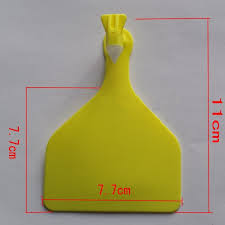 cow tag earrings hot sale new product customized plastic blank cow tag