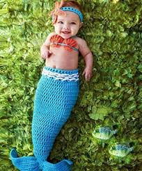 mermaid tails for halloween amazon com pinbo baby crochet knitted photo photography prop