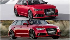 2015 audi rs6 avant facelift photo comparison subtle cosmetic